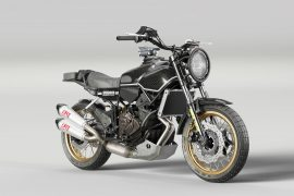 Velomacchi + Yamaha Unveil Rural Racer Project