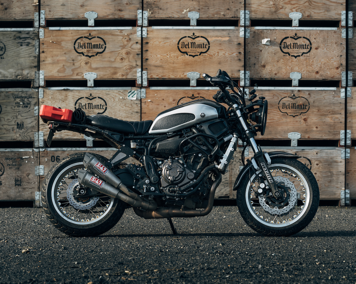 Catalytic Converter Purpose >> Rural Racer Project: XSR700 by Velomacchi and Yamaha ...