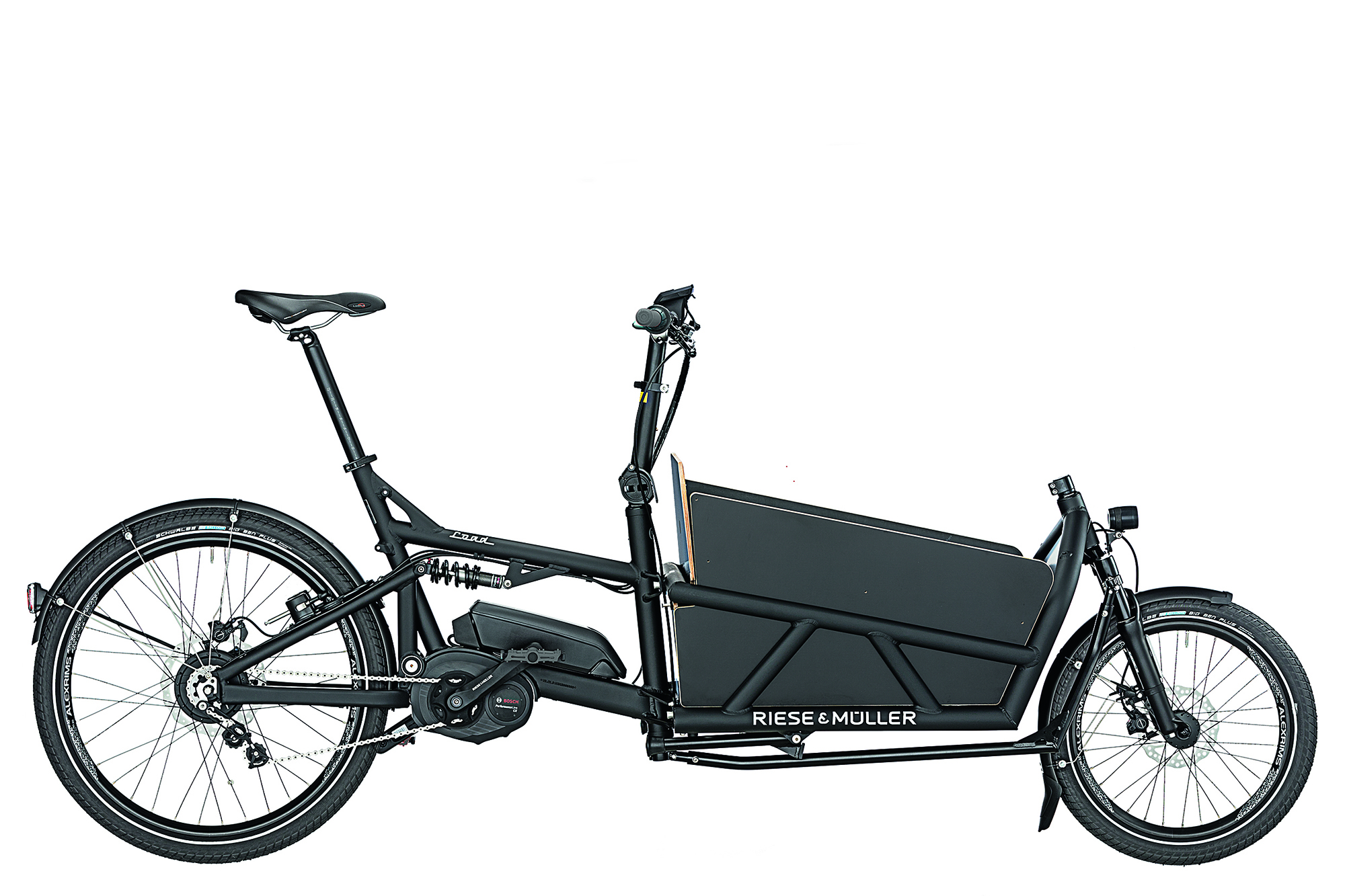 new e cargo bike from riese m ller gearminded. Black Bedroom Furniture Sets. Home Design Ideas