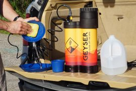 Geyser Outdoor Shower   Gearminded.com