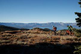 """The Bench"", Tahoe Rim Trail"
