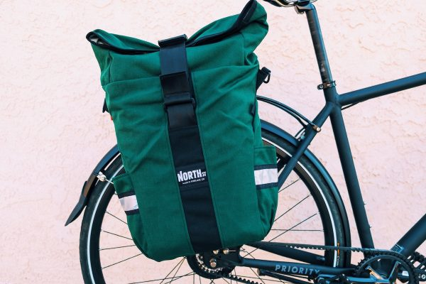 North St. bags Route Seven Pannier - Steel