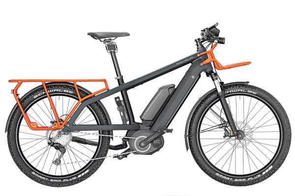Multicharger - Midtail E-Bike with luggage space | Gearminded.com