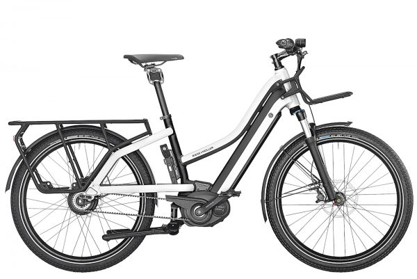 Multicharger - Midtail E-Bike with luggage space.