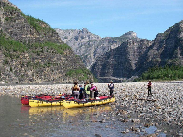 Women's Canoe trip in Canada's Northwest
