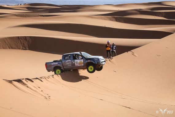Women's Only Off-Road Rally Race Takes on Morocco