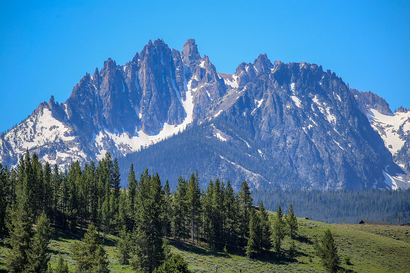 Mountain range in Idaho